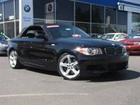 - This 2008 BMW 1 Series 2dr 135i Convertible features