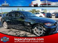 Clean CARFAX. 28/18 Highway/City MPG 2008 BMW 3 Series