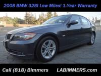 Beautiful 2008 BMW 328i Sedan, Clean Title, Metallic