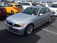 2008 BMW 3 Series 335i in Silver. Seize the road with