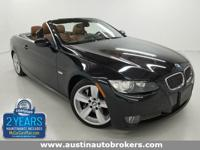 This 2008 BMW 335i Convertible is CERTIFIED Pre- Owned