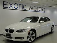 This 2008 BMW 3 Series 2dr 335i Convertible functions a
