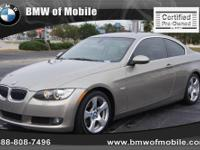 BMW of Mobile presents this 2008 BMW 3 SERIES 2DR CPE