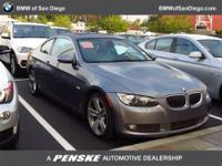 This 2008 BMW 3 Series 2dr 2dr Cpe 335i RWD Coupe