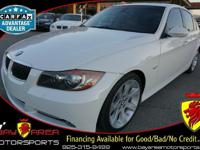 This brilliant 2008 BMW 3 SERIES has been carefully