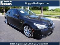 This 2008 BMW 5 Series 550i comes equipped with