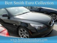 Gorgeous 2008 535 Black over Brown Leather. Clean