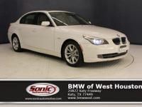 This 2008 550i has a Certified Clean Carfax, Alpine