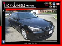 Thank you for viewing this Beautiful 2008 Black BMW 5