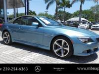 Type your sentence here. Blue 2008 BMW 6 Series 650i