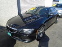 Options:  2008 Bmw 6 Series 650I|Enjoy The Powerful