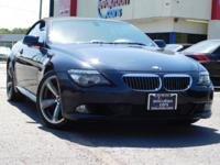 This 2008 BMW 650i 2-door Convertible comes with a