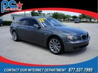 Local Trade-in! This BMW 750Li has too many options to