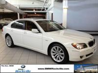 ONLY 34,257 Miles! 750i trim. Nav System, Moonroof,