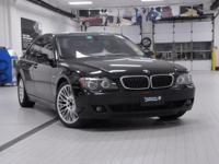 2008 BMW 7 Series 750i Black Sapphire Metallic Clean