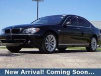2008 BMW 7 Series 750i in Jet Black, This 7 Series