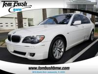 This 2008 BMW 7 Series 750Li is proudly offered by Tom