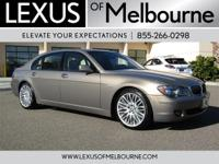 Superb Condition, ONLY 51,543 Miles! 750Li trim. NAV,