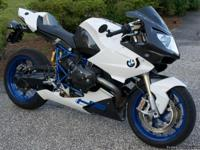 2008 BMW HP2 SPORT  This bike is like new, never