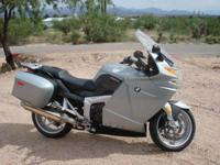 2008 BMW K1200GT. 2008 BMW K1200GT model in great