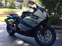 2008 BMW K1200S with less than 6250 miles. One owner,