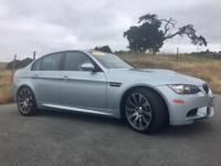 Options:  2008 Bmw M3 4Dr Sdn M3|Silver|Gray|71|000