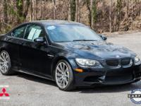 2008 BMW M3 Base Black BMW M3 RWD 7-Speed Manual