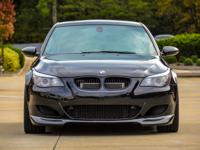 BMW E60 M5 Black with Creme Leather interior. Is a