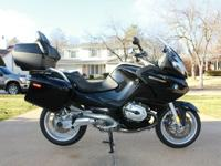 2008 BMW R1200RT. This bike is adult ridden, never