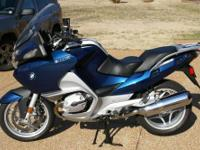 2008 BMW R1200RT sport touring motorcycle in Biarritz