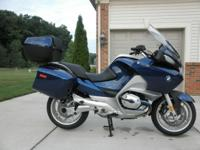 2008 BMW R1200RT, ABS, ESA, cruise control, heated