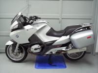 2008 BMW R1200RT, silver 12728 miles. This bike is in