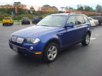 Options Included: N/AClean and sharp BMW X3, loaded up