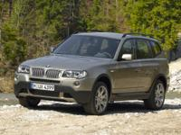 Black 2008 BMW X3 3.0si AWD 6-Speed Automatic with