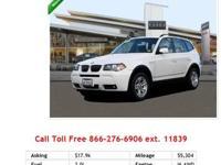 2008 Bmw X5 3-0I I6 3.0L Gas AWD ALL WHEEL DRIVE,