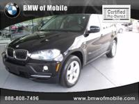 BMW of Mobile presents this CARFAX 1 Owner 2008 BMW X5