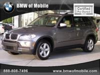 BMW of Mobile presents this 2008 BMW X5 AWD 4DR 3.0SI