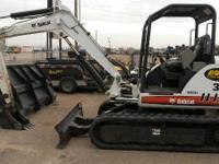 2008 Bobcat 337G BOBCAT 337G MINI EXCAVATOR Excavators
