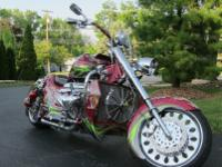 This bike was originally built by Mountain Boss Hoss,