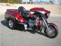 Wow! Boss Hoss Sierra Trike with Chevy 350 fuel