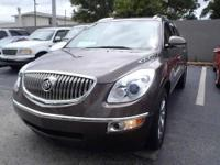 2008 BUICK ENCLAVE CXL in COCOA METALLIC w/CASHMERE