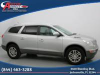 This is a 2008 Buick Enclave CX that is Platinum