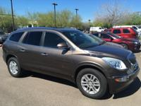 FWD.  2008 Buick Enclave CX  Options:  Abs Brakes