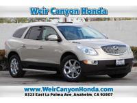 CARFAX One-Owner. Clean CARFAX. Gold 2008 Buick Enclave