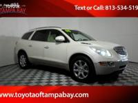 Options:  2008 Buick Enclave Cxl|White|Suv Buying Made