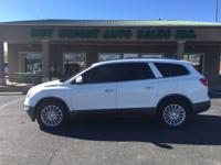 SUPER CLEAN. FULLY LOADED BUICK ENCLAVE. HEATED LEATHER