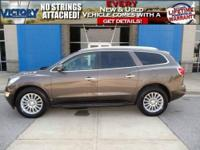 Enclave CXL, Lifetime Powertrain Warranty Included With