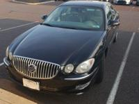 Clean CARFAX. Onyx Black 2008 Buick LaCrosse CX FWD