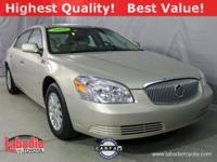 New Price! 2008 Buick Lucerne CX Gold Mist Metallic