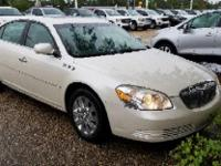 White Opal 2008 Buick Lucerne CXL FWD 4-Speed Automatic